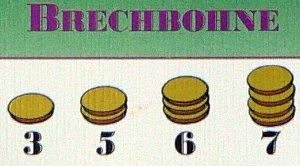 Bohnanza - Fasolki - przelicznik fasole-pieniądze