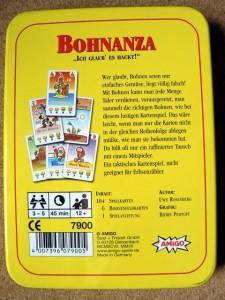Bohnanza - Fasolki - pudełko tył