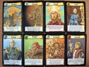 Cytadela - podstawowe karty postaci