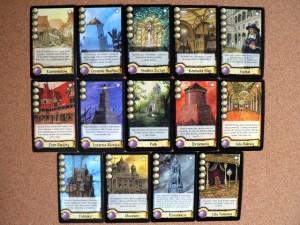 Cytadela - dodatkowe karty dzielnic