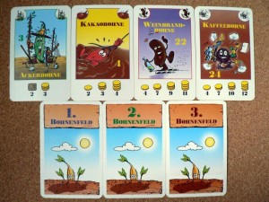 Fasolki - dodatek - karty