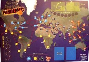 Pandemic - plansza