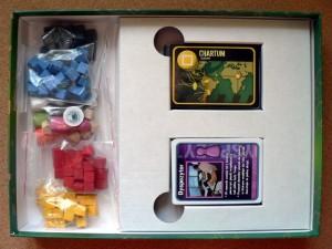 Pandemic - środek pudełka