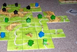 Carcassonne: spokojna gra w stylu euro.