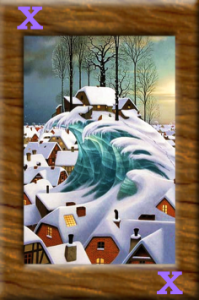 Karta Zimwego Miasteczka