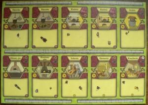 Agricola - plansza dużych usprawnień