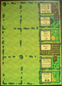 Agricola - plansza akcji