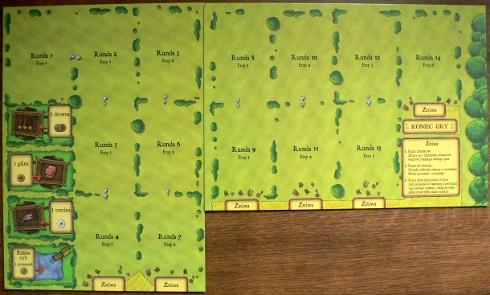 Agricola - plansze rund