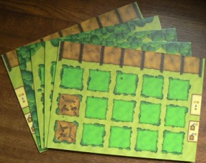 Agricola - plansze graczy