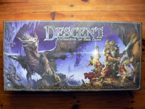 Descent: Journeys in the dark - przód