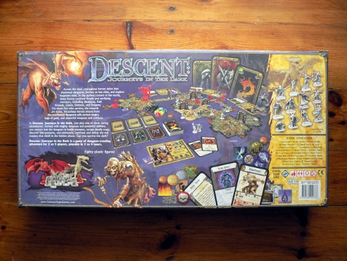 Descent: Journeys in the dark - tył