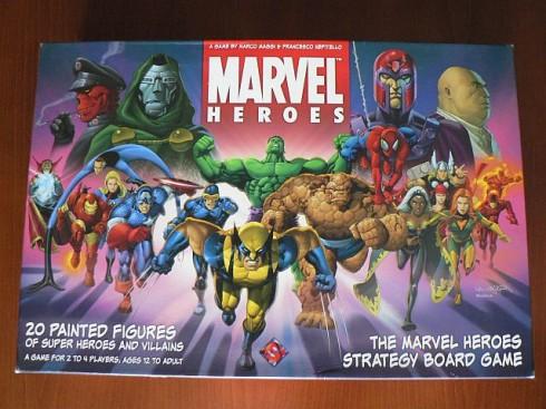 Gry planszowe - Marvel Heroes