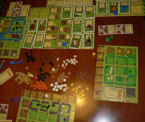 Agricola - gry planszowe