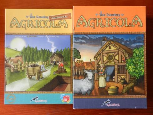 Gra planszowa - Agricola Torfowisko