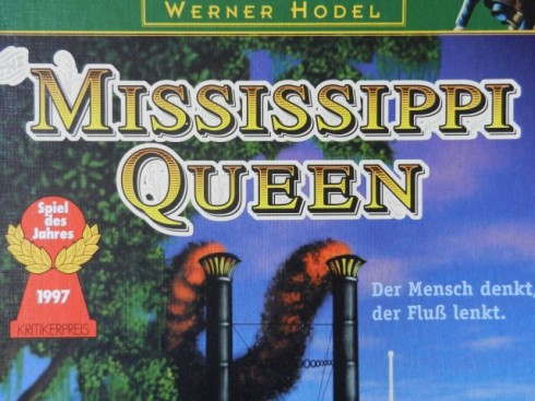 Gra planszowa - Mississippi Queen