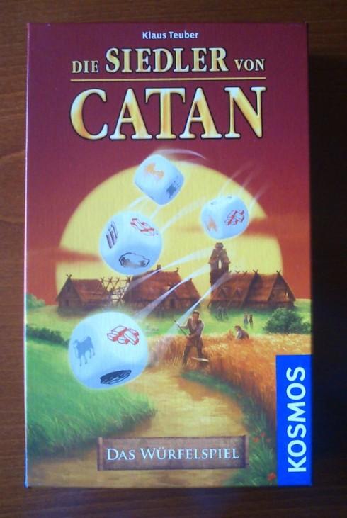 Gry planszowe - Osadnicy z Catanu - gra kościana