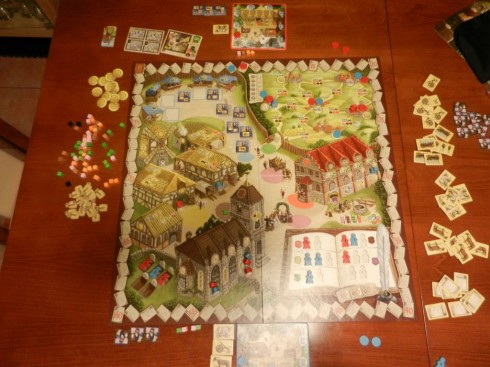 Gry Planszowe - Village