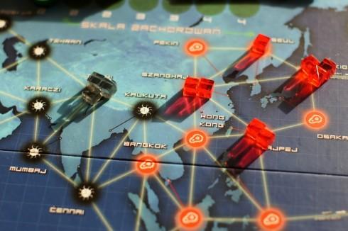 Pandemia - wschód na wschodzie