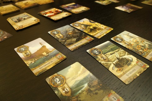 Rune Age - miasta