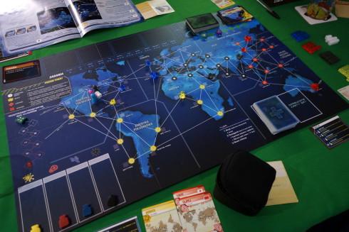 Tak nas przywitał Pandemic Legacy